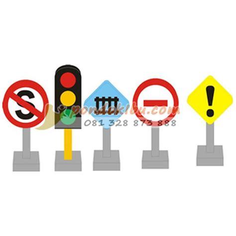 Permainan Anak Edukatif mainan anak edukatif rambu lalu lintas pondok ibu