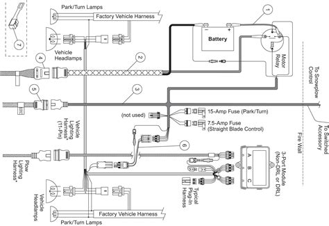 9 pin wiring diagram for western plow wiring diagram