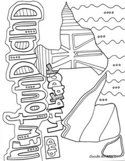 coloring pages of newfoundland how to draw a puffin newfoundland and labrador