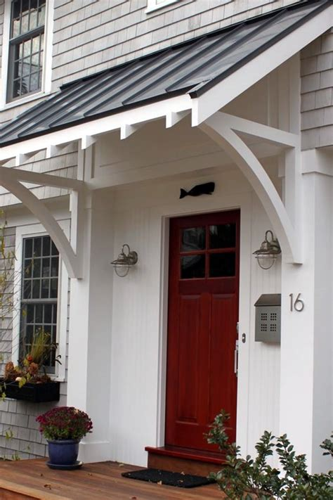 40 lovely door overhang designs bored