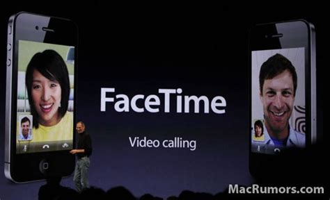 Find On Facetime Facetime Chat Come To Iphone 4 Gear Live