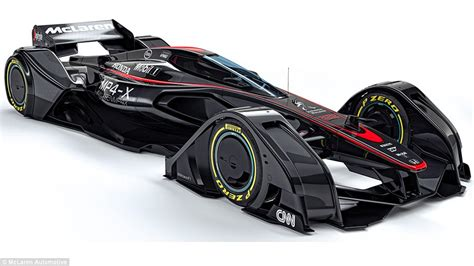 Kaos Formula One F1 51 mclaren unveil mp4 x f1 concept car controlled by drivers