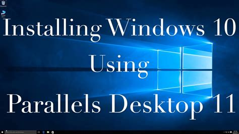 Install Windows 10 In Parallels | yt 46705 how to install windows 10 in parallels desktop