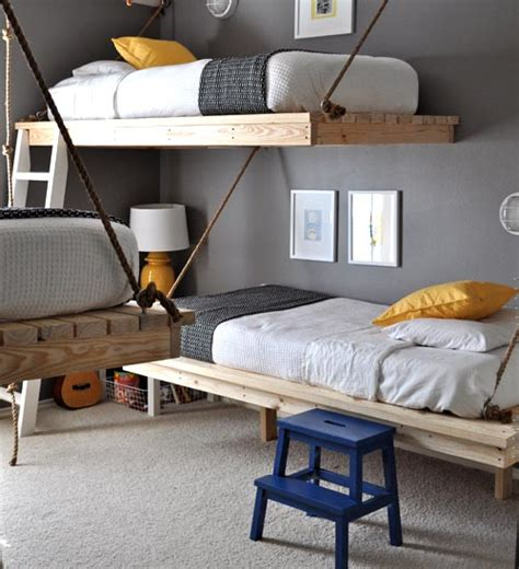 hanging loft bed hanging beds design mom