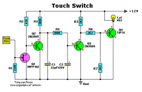 transistor to touch transistor to touch 28 images 1 200 transistor circuits bjt transistor with led 28 images