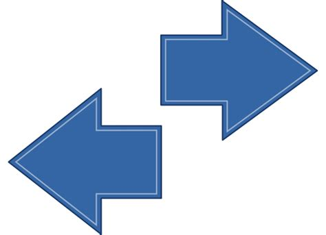 st on left or right arrow left right clip art at clker com vector clip art