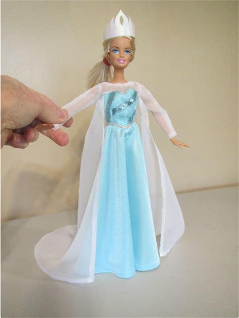 pattern dress frozen frozen costumes for barbie doll clothes pinterest