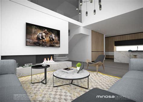 modern living room and kitchen design minosa the modern living room kitchen lounge dine