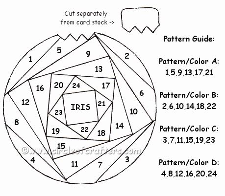 free patterns iris folding christmas ornament free printable iris folding patterns