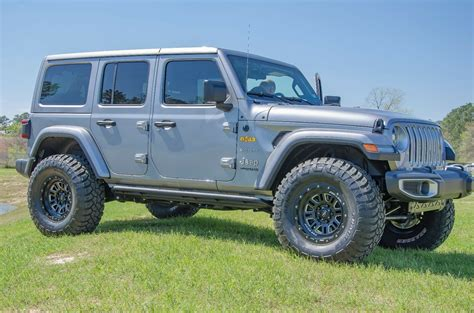 2019 Jeep 4 Door by N Fab Textured Black Rock Rails 2018 2019 Jeep Wrangler Jl