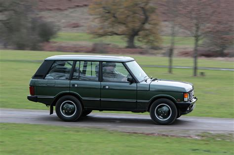 vintage range rover land rover to celebrate quarter century in u s at ny auto