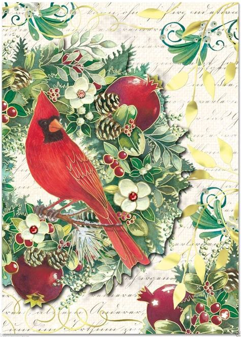 Wonderful Punch Studio Christmas Cards #2: C4dd97918037c7aac591d5aa316919b7--bird-pictures-holiday-greeting-cards.jpg