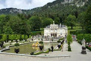 Building Kitchen Island linderhof palace and versailles petit trianon girls in