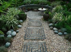Retreat at the end of the path make for an appealing garden getaway