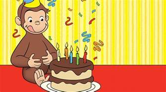 curious george favors kids birthday parties pbs