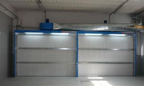 cabina di verniciatura a secco cabina di verniciatura a secco mod cs tecno azzurra