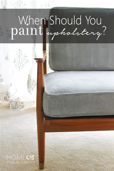 diy chalk paint on fabric how to when upholstery should be painted dining