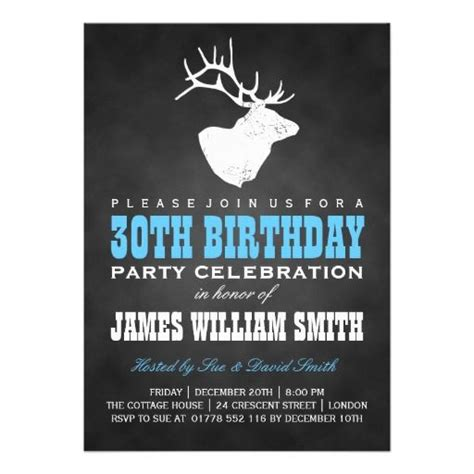 30th Birthday Invitation Card Template by 17 Best Images About Birthday Invitations On