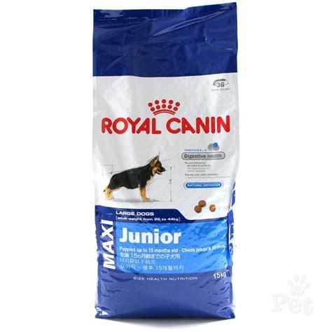 royal canin puppy food royal canin maxi junior food