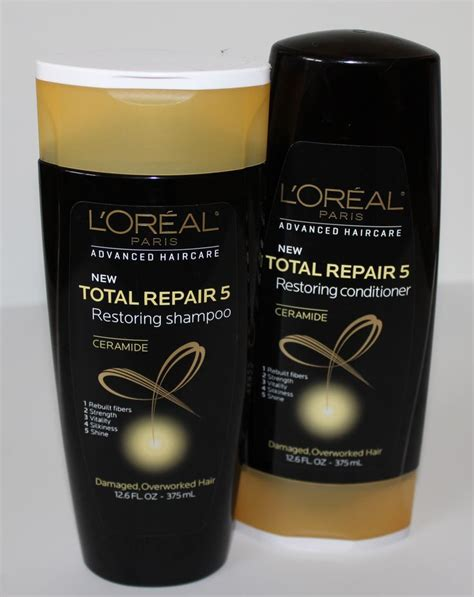Sho Loreal Total Repair 5 pin by gates on style