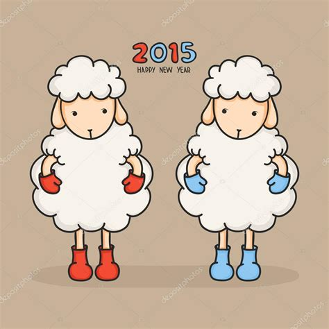 new year sheep images colorful sheep in boots happy new year 2015