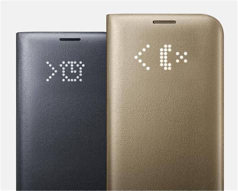 Delkin Flip Cover Samsung S7 Gold samsung flip leather led ef ng930pfegww for samsung