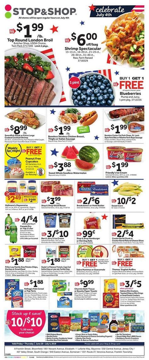 stop  shop weekly ad flyer circular