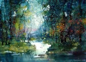 Landscape Artists Watercolor Watercolor Painting Landscape 9