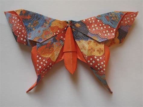 Folded Paper Butterflies - origami maniacs beautiful origami butterfly by michael