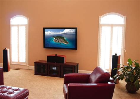 home theater design nashville tn on wall and above fireplace flat panel lcd led plasma tv