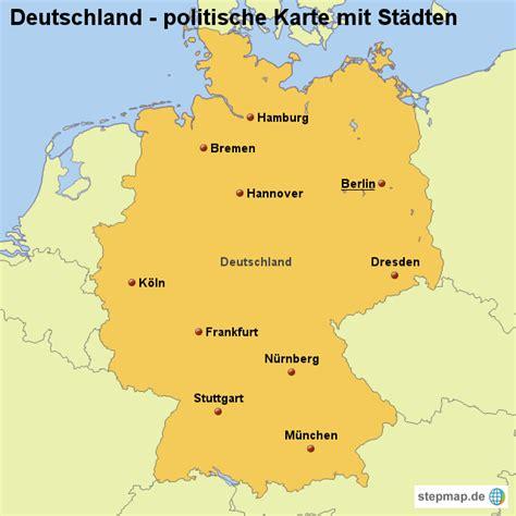 deutsches büro grüne karte hamburg landkarte deutschland politische karte mit st 228 dten