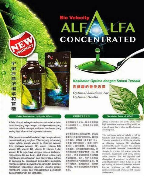 Bio Adalah let s get ahead in bio velocity alfalfa concentrated