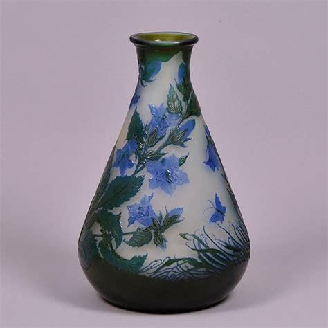 emile galle vase emile gall 233 antique glass blue flower vase hickmet