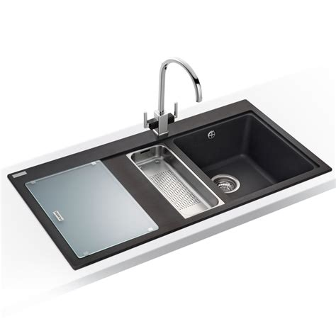 black kitchen sinks uk franke mythos 1 5 bowl granite onyx black kitchen sink