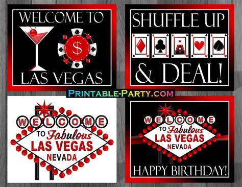 Casino Theme Party Decorations Printable Las Vegas Party Supplies Las Vegas Casino Theme Decorations