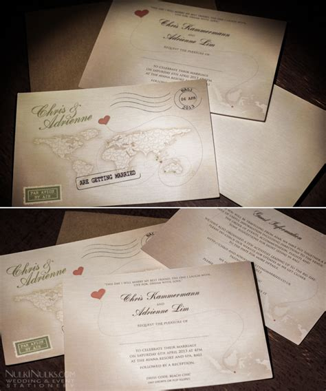 map wedding invitations uk s journey vintage map travel theme real weddings