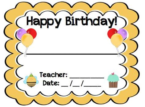 Student Birthday Card Template by Best 25 Birthday Certificate Ideas On