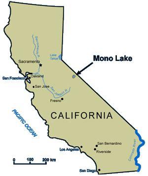 california map lakes tale of three lakes part three desert sea rat