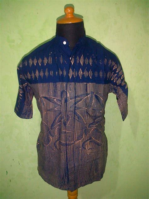 Cuci Gudang Baju Batik Modern Biru Murah Baju Batik Modern Pekalongan Cuci Gudang Pusat Grosir