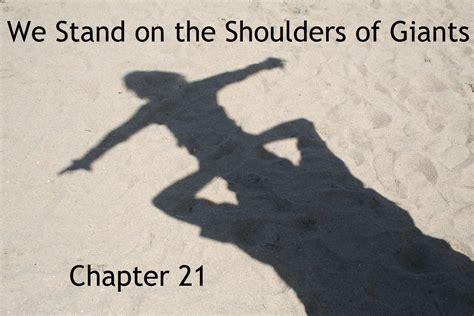 The Shoulders Of Giants standing on the shoulders of giants