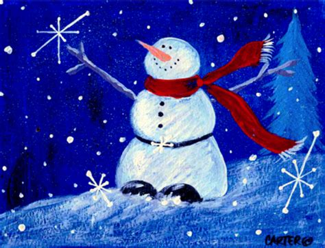 snowman happy holidays by jamie carter holidays pinterest