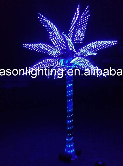 outside lighted trees led lighted palm trees for outside buy palm tree lighted