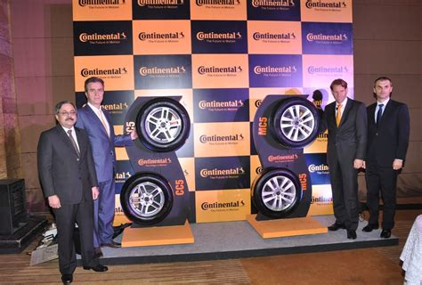 New Car Tyres India Continental Announces The Launch Of New Premium Car Tyres