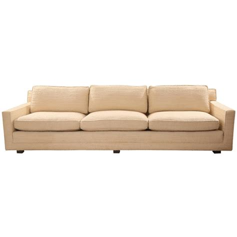 Handcrafted Furniture Company - custom ordered sofa by prentice furniture company at 1stdibs