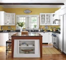 Kitchen Colour Design Ideas 2012 White Kitchen Cabinets Decorating Design Ideas