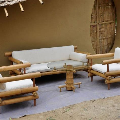 bamboo couch and chairs 25 best ideas about bamboo furniture on pinterest