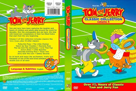 Dvd Tom Jerry Classic Collections tom and jerry classic collection volume 04 tv dvd custom covers tom and jerry classic