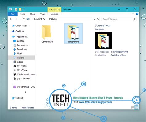 lokasi folder wallpaper default windows 10 di pc diomod cara merubah folder default screenshot di windows 10