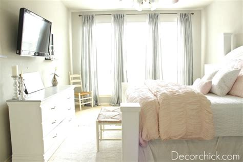 our new white pink and grey bedroom decorchick