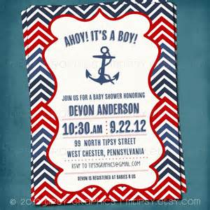 free nautical baby shower invitation templates theruntime